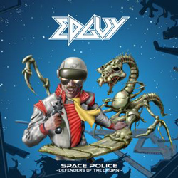 "Edguy - ""Space Police - Defenders Of The Crown"" CD cover image - Click to read review"