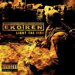"Ekotren - ""Light The Fire"" CD cover image - Click to read review"