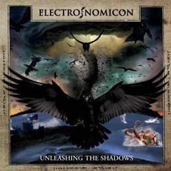 "Electronomicon - ""Unleashing The Shadows"" CD cover image"
