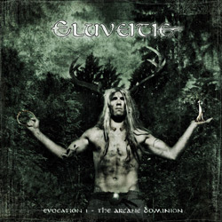"Eluveitie - ""Evocation I: The Arcane Dominion"" CD cover image"