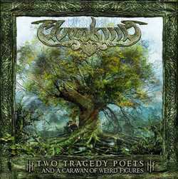 "Elvenking - ""Two Tragedy Poets (...And A Caravan Of Weird Figures)"" CD cover image"