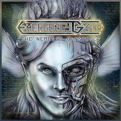"Emergency Gate - ""The Nemesis Construct"" CD cover image - Click to read review"