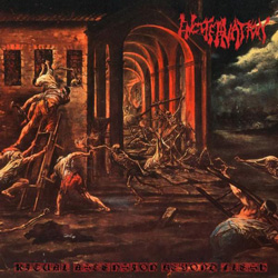 "Encoffination - ""Ritual Ascension Beyond Flesh"" CD cover image"