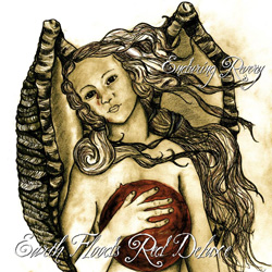 "Enduring Revery - ""Earth Floods Red (deluxe)"" CD/EP cover image - Click to read review"