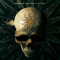 "Enemy Of The Sun - ""Caedium"" CD cover image - Click to read review"