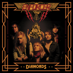 "Enforcer - ""Diamonds"" CD cover image - Click to read review"