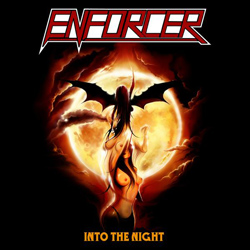 "Enforcer - ""Into The Night"" CD cover image - Click to read review"