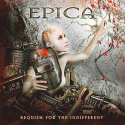 "Epica - ""Requiem For The Indifferent"" CD cover image"