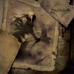 "Equilibrium - ""Sagas"" CD cover image - Click to read review"