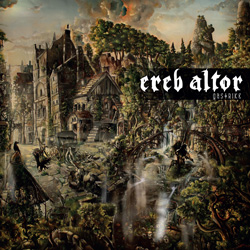 "Ereb Altor - ""Gastrike"" CD cover image - Click to read review"