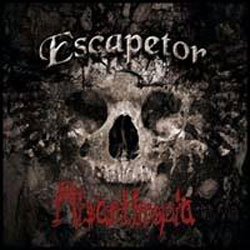 "Escapetor - ""Misanthropia"" CD/EP cover image"