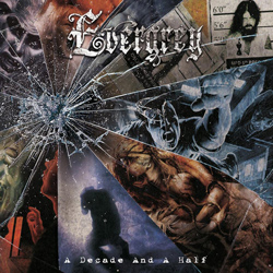 "Evergrey - ""A Decade and a Half"" 2-CD Set cover image"