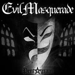 "Evil Masquerade - ""Pentagram"" CD cover image - Click to read review"