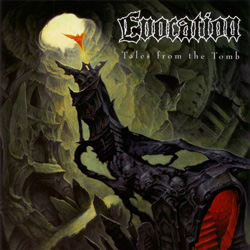 "Evocation - ""Tales From the Tomb (reissue)"" CD cover image - Click to read review"
