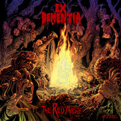 "Ex Dementia - ""The Red Mass"" CD cover image"
