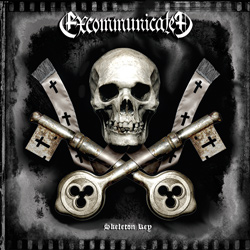 "Excommunicated - ""Skeleton Key"" CD cover image - Click to read review"