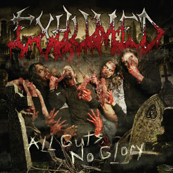 "Exhumed - ""All Guts, No Glory"" CD cover image - Click to read review"