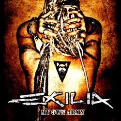 "Exilia - ""My Own Army"" CD cover image - Click to read review"