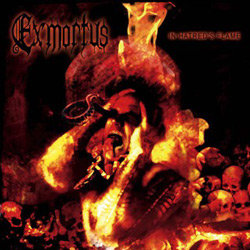 "Exmortus - ""In Hatred's Flame"" CD cover image - Click to read review"
