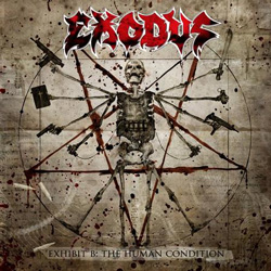 "Exodus - ""Exhibit B: The Human Condition"" CD cover image - Click to read review"