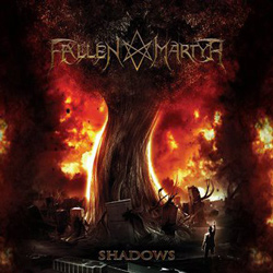 "Fallen Martyr - ""Shadows"" CD cover image - Click to read review"