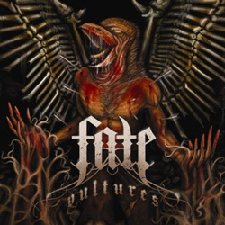 "Fate - ""Vultures"" CD cover image - Click to read review"