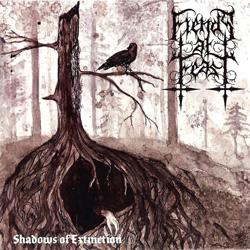 "Fiends at Feast - ""Shadows of Extinction"" CD cover image"