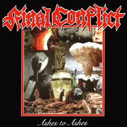 "Final Conflict - ""Ashes To Ashes (Reissue)"" CD cover image"