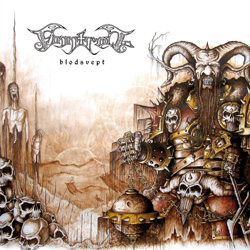 "Finntroll - ""Blodsvept"" CD cover image"