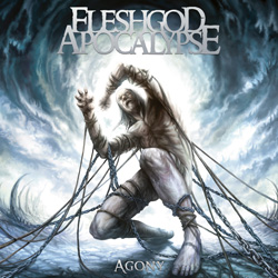 "Fleshgod Apocalypse - ""Agony"" CD cover image - Click to read review"