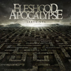 "Fleshgod Apocalypse - ""Labyrinth"" CD cover image - Click to read review"