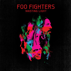 "Foo Fighters - ""Wasting Light"" CD cover image - Click to read review"