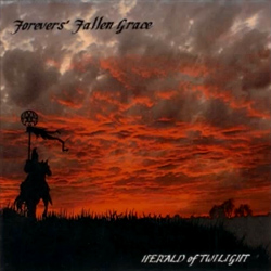 "Forevers' Fallen Grace - ""Herald Of Twilight"" CD cover image - Click to read review"