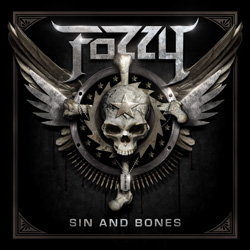 "Fozzy - ""Sin and Bones"" CD cover image - Click to read review"
