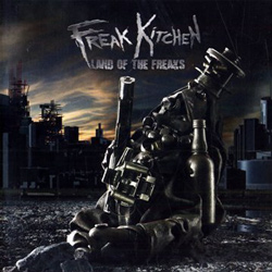 "Freak Kitchen - ""Land of the Freaks"" CD cover image"