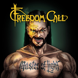 "Freedom Call - ""Master Of Light"" CD cover image"
