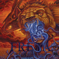 "Freya - ""All Hail The End"" CD cover image - Click to read review"
