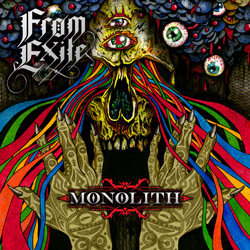 "From Exile - ""Monolith"" CD cover image - Click to read review"
