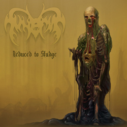 "Funerus - ""Reduced to Sludge"" CD cover image"