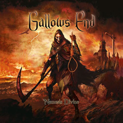 "Gallows End - ""Nemesis Divine"" CD cover image - Click to read review"