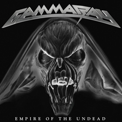 "Gamma Ray - ""Empire Of The Undead"" CD cover image - Click to read review"