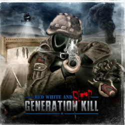 "Generation Kill - ""Red, White And Blood"" CD cover image"