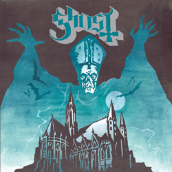 "Ghost - ""Opus Eponymous"" CD cover image"