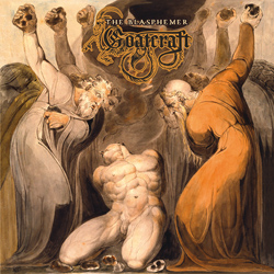 "Goatcraft - ""The Blasphemer "" CD cover image"
