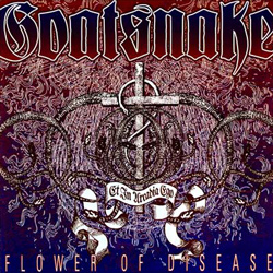 "Goatsnake - ""Flower Of Disease"" CD cover image"