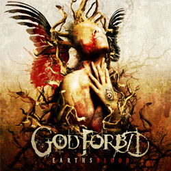 "God Forbid - ""Earthsblood"" CD cover image - Click to read review"