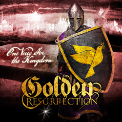 "Golden Resurrection - ""One Voice For The Kingdom"" CD cover image"