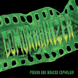 "Gomorrahizer - ""Pseudo God Induced Cephalgia"" CD cover image - Click to read review"
