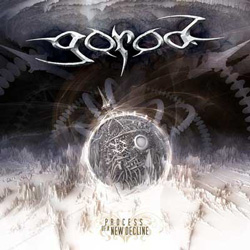 "Gorod - ""Process of a New Decline"" CD cover image - Click to read review"