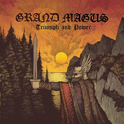 "Grand Magus - ""Triumph and Power"" CD cover image - Click to read review"
